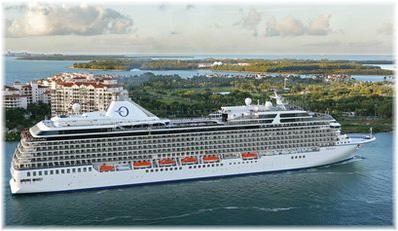 The Oceania Marina in Miami