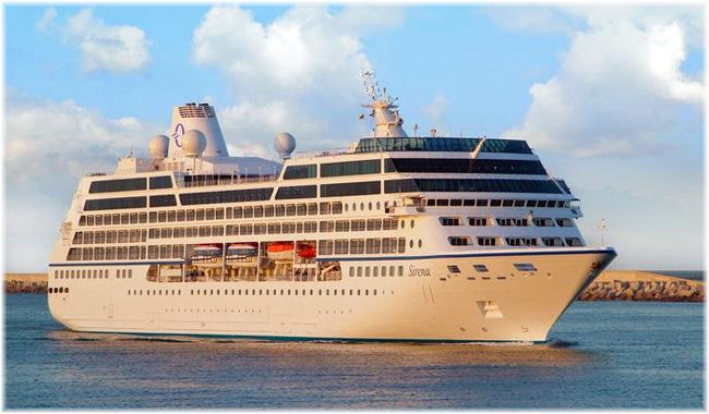 Oceania Cruises' Sirena (Ex R4)