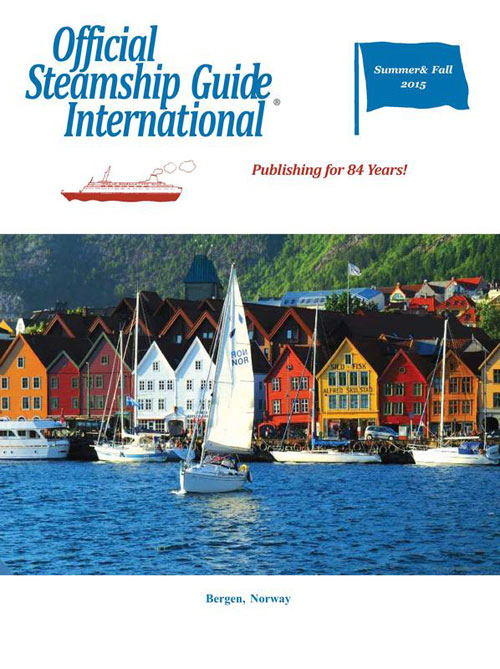 The Official Steamship Guide International - Summer & Fall 2015