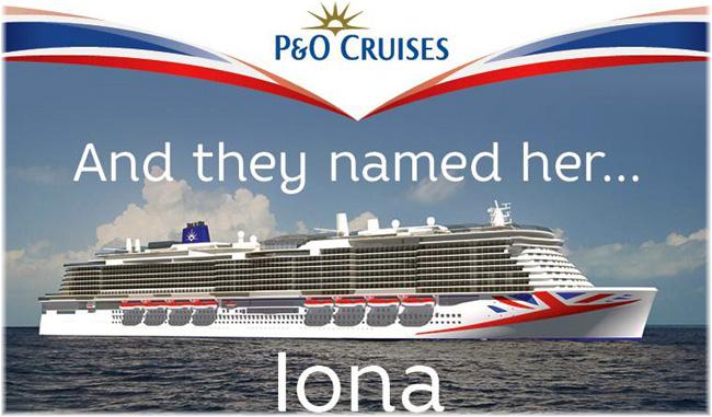 Iona, P&O Cruises