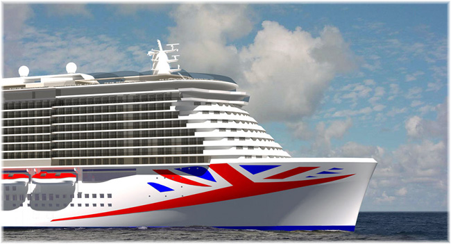 The year 2020 will put P&O Cruises into the history books again, with the introduction of Britain's biggest ever cruise ship