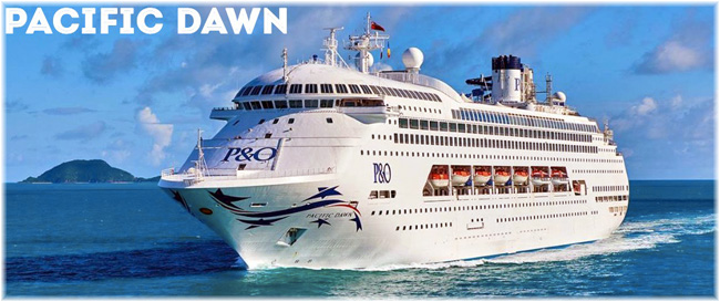 The Pacific Dawn (Courtesy P&O Cruises Australia)