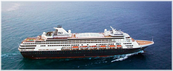The Pacific Eden (Photo courtesy P&O Cruises Australia)