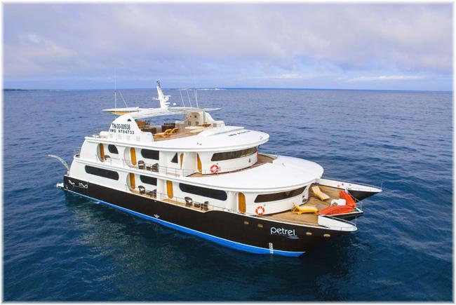 The catamaran Petrel