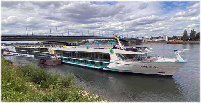New Phoenix River Cruise Ship Named MS Andrea