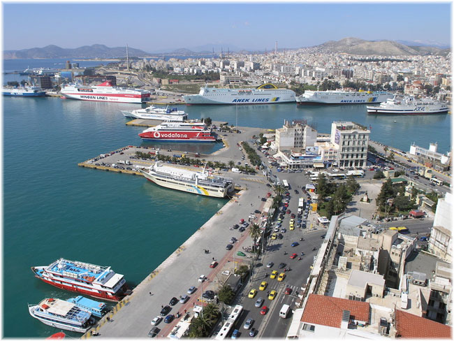The Piraeus Port