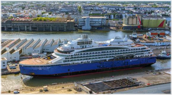 Fincantieri's subsidiary Vard will build Le Commandant Charcot, the first arctic LNG cruise vessel