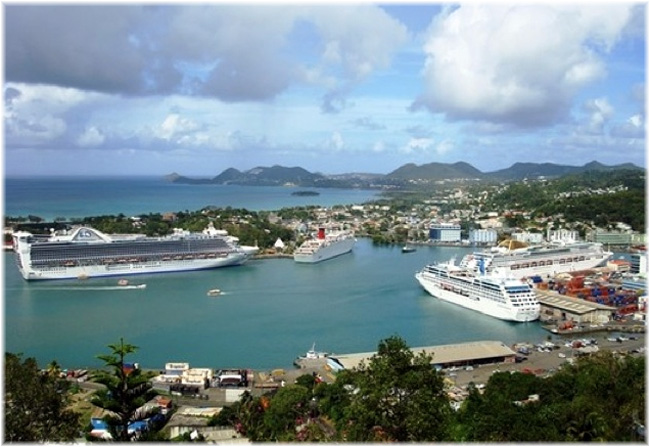 Port Castries - Saint-Lucia (Credit: Saint Lucia Air And Sea Ports Authority)