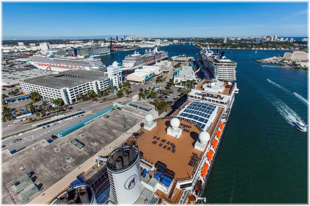 Port Everglades (Courtesy of Broward County's Port Everglades)
