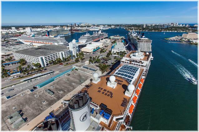 Port Everglades (Courtesy of Broward County's Port Everglades)