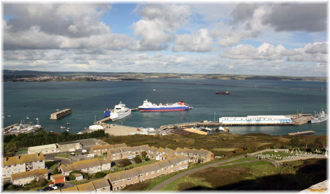 Portland Port  (Courtesy Portland Harbour Authority, UK)
