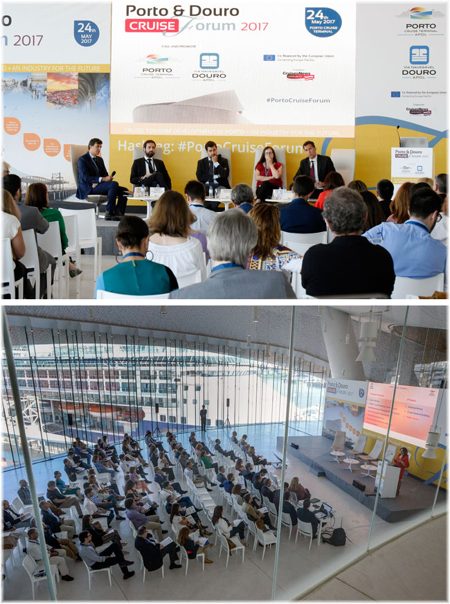 On May 24, Porto was the host, with the Porto & Douro Cruise Forum 2017, of an event organised by Cruises News Media to bring together the local, national and international cruise industry