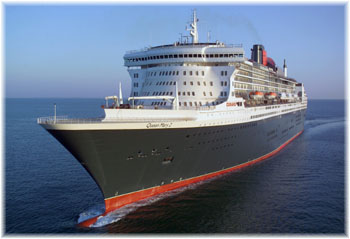 QM2 Sea trials