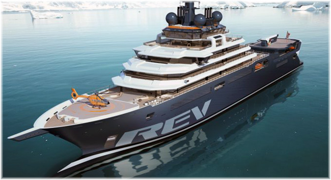 REV Ocean Expedition yacht
