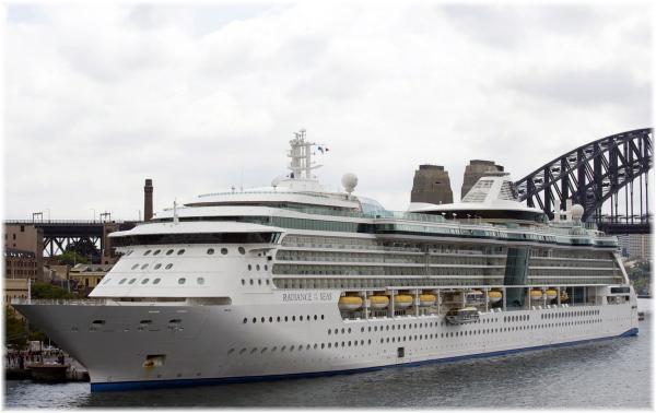 Radiance of The Seas (Courtesy Royal Caribbean Int.)