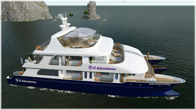 The Reina Silvia Voyager - G Adventures