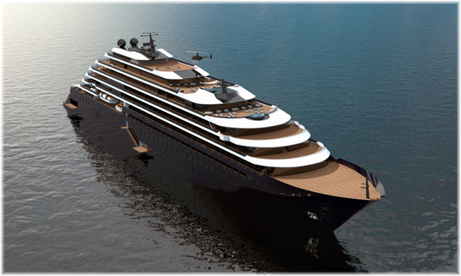 The Ritz-Carlton Yacht Collection will open for the 2019 cruise season with the first of three 298-berth yacht cruisers