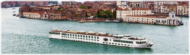 The 130-berth River Countess will emerge from dry dock as S.S. La Venezia