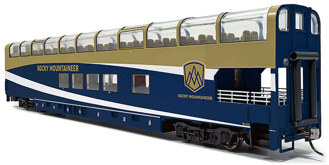 Rocky Mountaineer: the Gold Leaf Dome Car