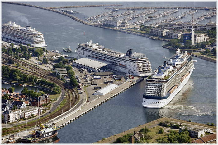 Warnem nde is germany 39 s number one cruise port late for Resort warnemunde
