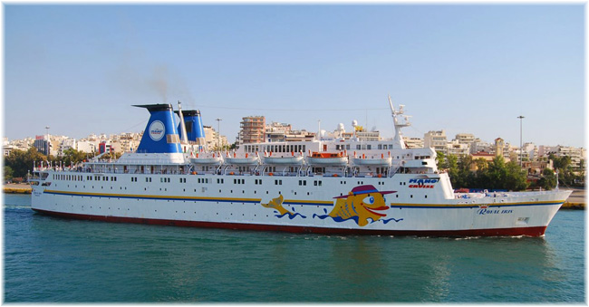 The 770-berth cruise ship Royal Iris