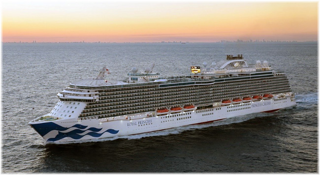 The Royal Princess - Photo courtesy of Princess Cruises