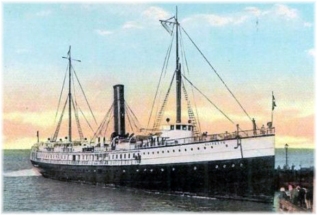 The s.s. Olivette carried Churchill from Tampa to Havana in 1895