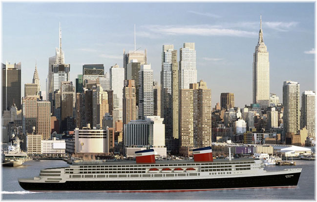 The new ss United States (Artist impression courtesy Crystal Cruises)