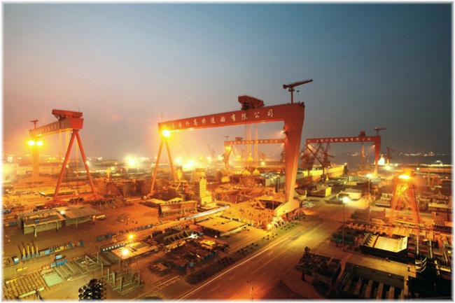 The SWS (Courtesy Shanghai Waigaoqiao Shipbuilding Co Ltd)