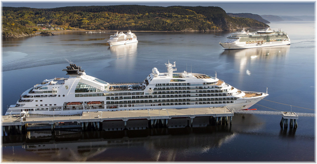 Seabourn Quest at Saguenay