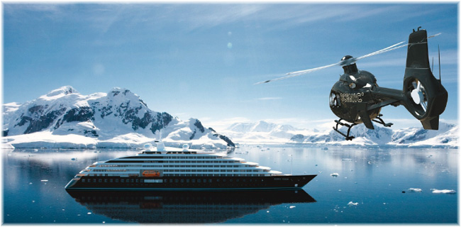 The 16,500-ton, 228-berth ocean-going cruise ship Scenic Eclipse (Artist impression courtesy Scenic Cruises) (Click to enlarge)