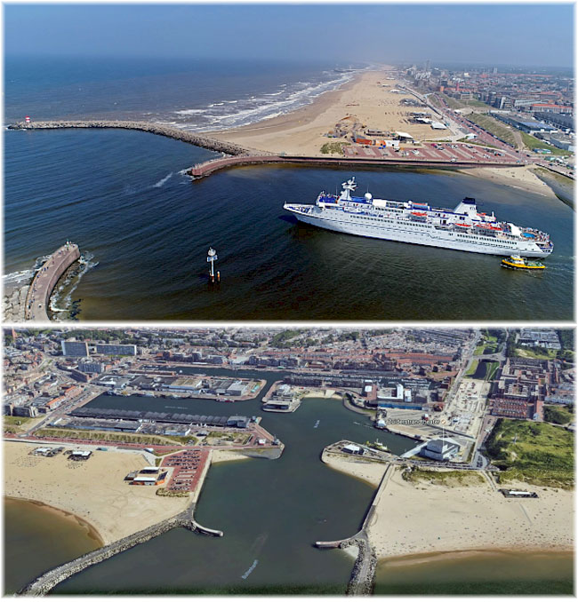 The seaside resort of Scheveningen close to The Hague, The Nederlands (Courtesy Cruise Europe)