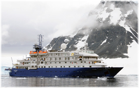 The Sea Spirit (The image refers the ship under charter at Quark Expeditions)