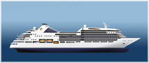 Seabourn Encore (Rendering courtesy of Seabourn Cruises)