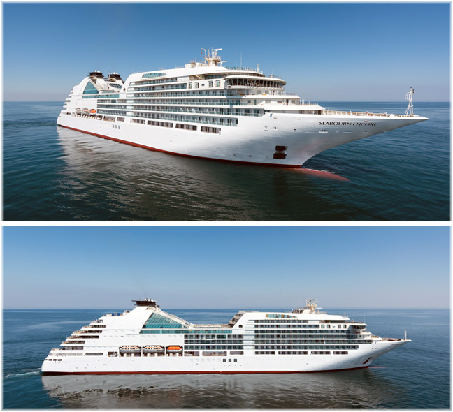 The Seabourn Encore (Courtesy of Fincantieri)
