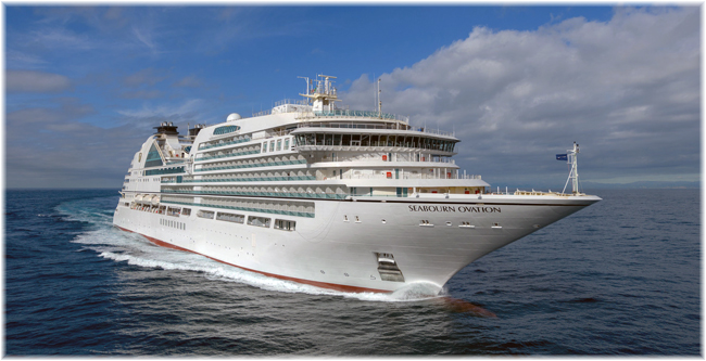 Seabourn Ovation (Courtesy of Fincantieri)