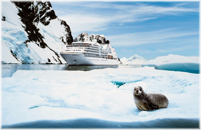 Seabourn Quest (Photo Robin West, Seabourn's manager of expedition operations)