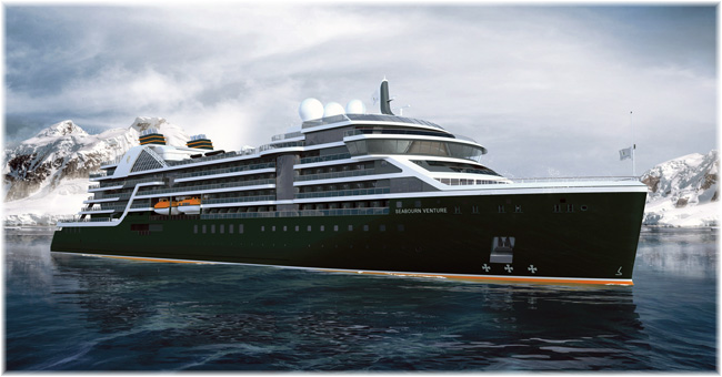 Seabourn Venture (Artist impression, March 2019)