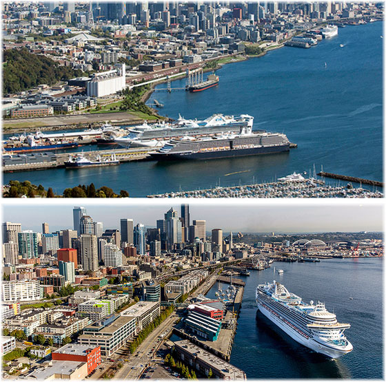 The port of Seattle (Courtesy Port of Seattle)