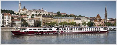 The 190-berth Serenity (Photo courtesy of The River Cruise Line)