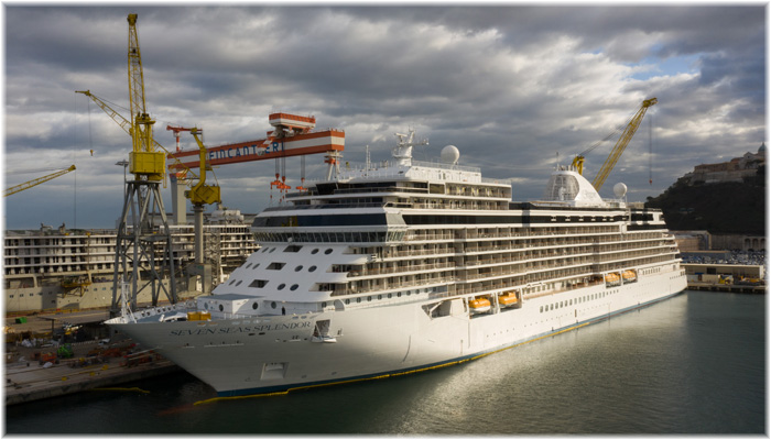 Seven Seas Splendor (Courtesy Fincantieri)