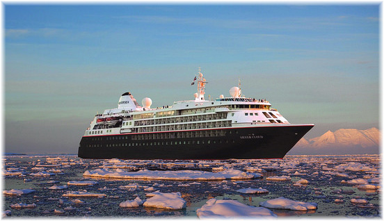 The Silver Cloud Expedition (Artist impression, courtesy Silversea)