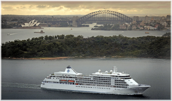 Silver Whisper at Sydney