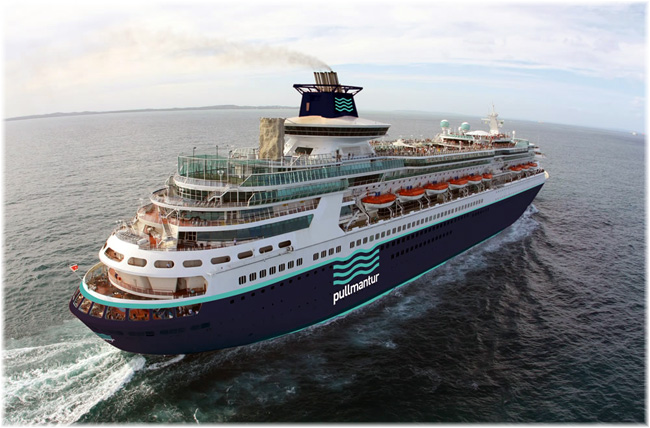 The Sovereign - Pulmmantur Cruceros (Courtesy Pullmantur)