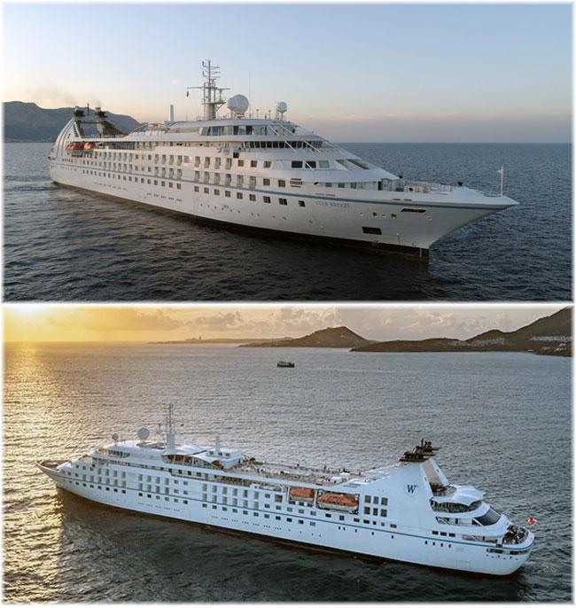 Windstar Cruises' Star Breeze (November 2020: courtesy Fincantieri)