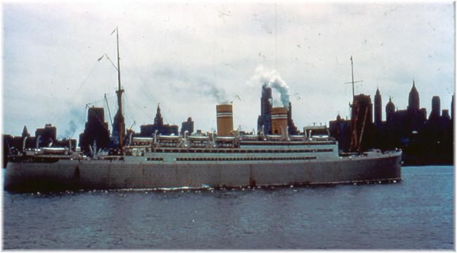 NAL's Stavangerfjord (1917-64) in New York