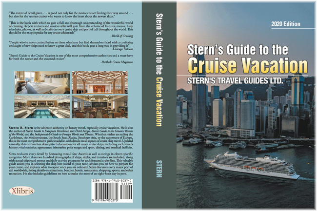 Stern's Guide to the Cruise Vacation: the 20/21 edition is now available in paperback and as an e-book