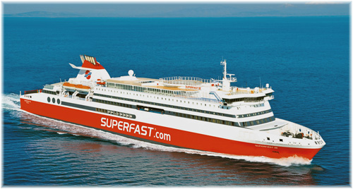 Attica Holdings -  ropax ferry Superfast VI