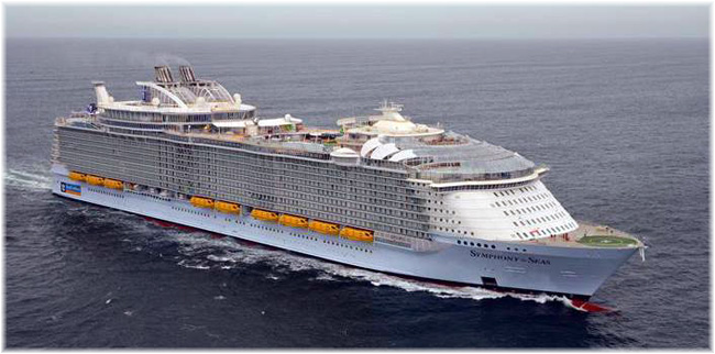 Symphony of The Seas (Click to enlarge)