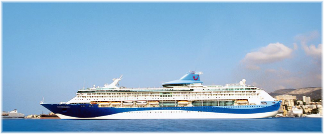 The TUI Discovery 2 to became Marella Discovery 2 (Courtesy Thomson Cruises) (Click to enlarge)